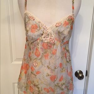 REBECCA TAYLOR NEW TANK TOP CAMI SUN KISS BEADS 4